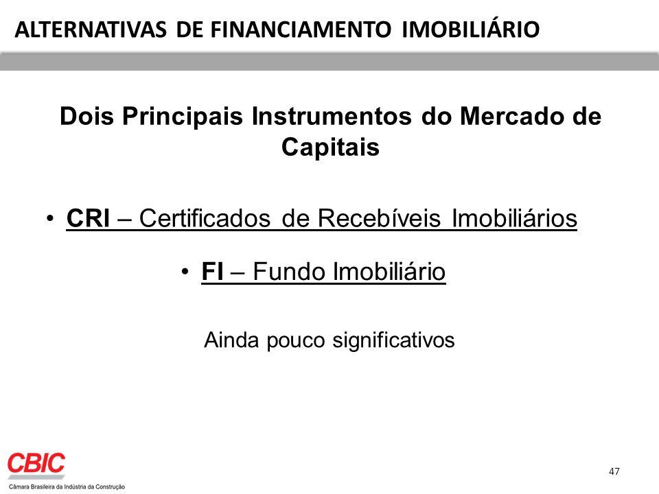 Dois Principais Instrumentos do Mercado de Capitais