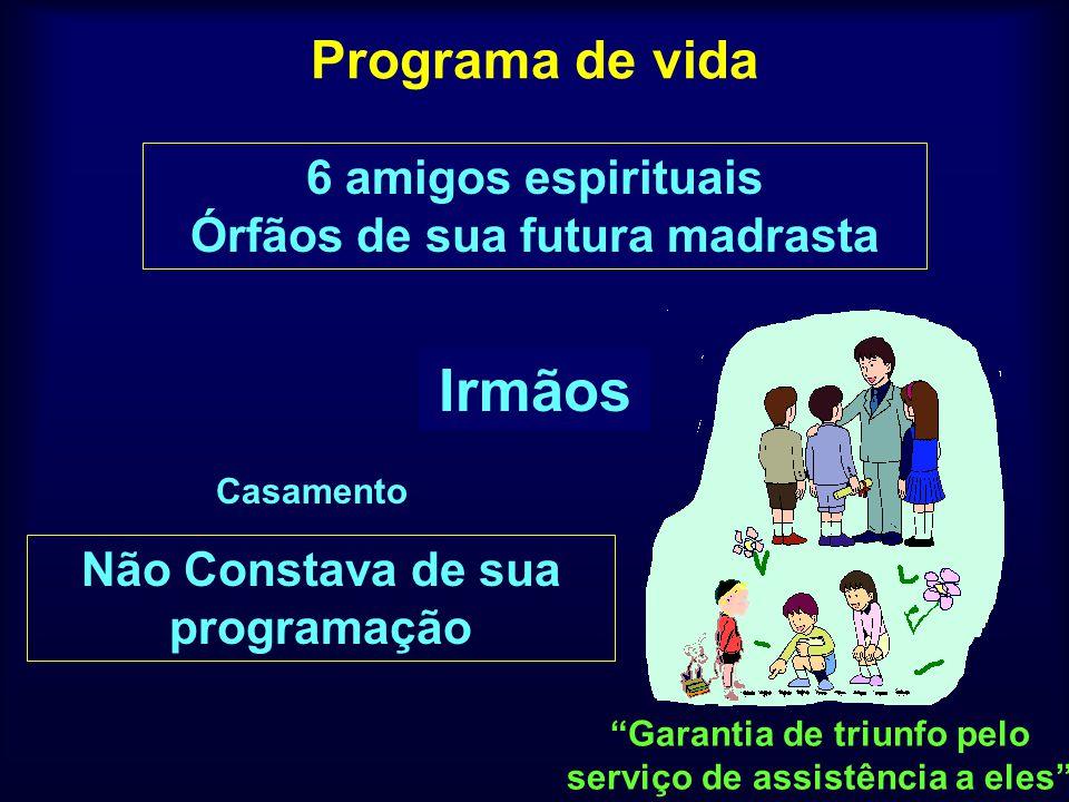 Irmãos Pai Mãe Programa de vida 6 amigos espirituais