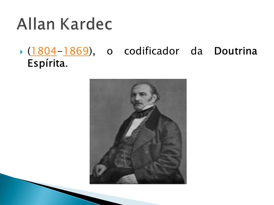 Allan Kardec (1804-1869), o codificador da Doutrina Espírita.