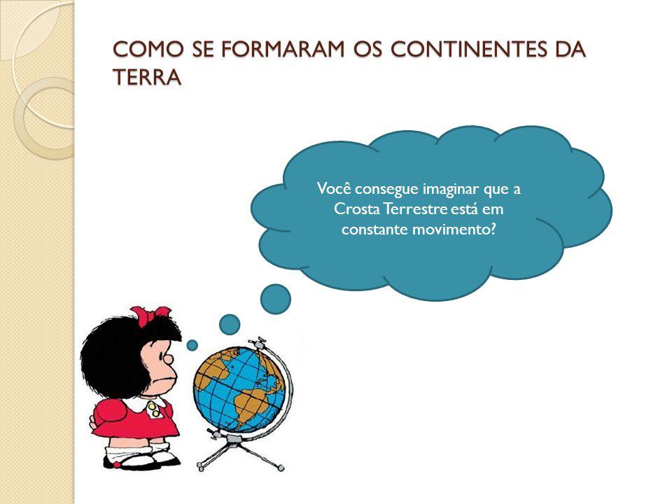 COMO SE FORMARAM OS CONTINENTES DA TERRA