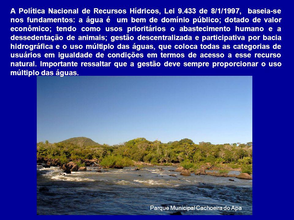 A Política Nacional de Recursos Hídricos, Lei 9