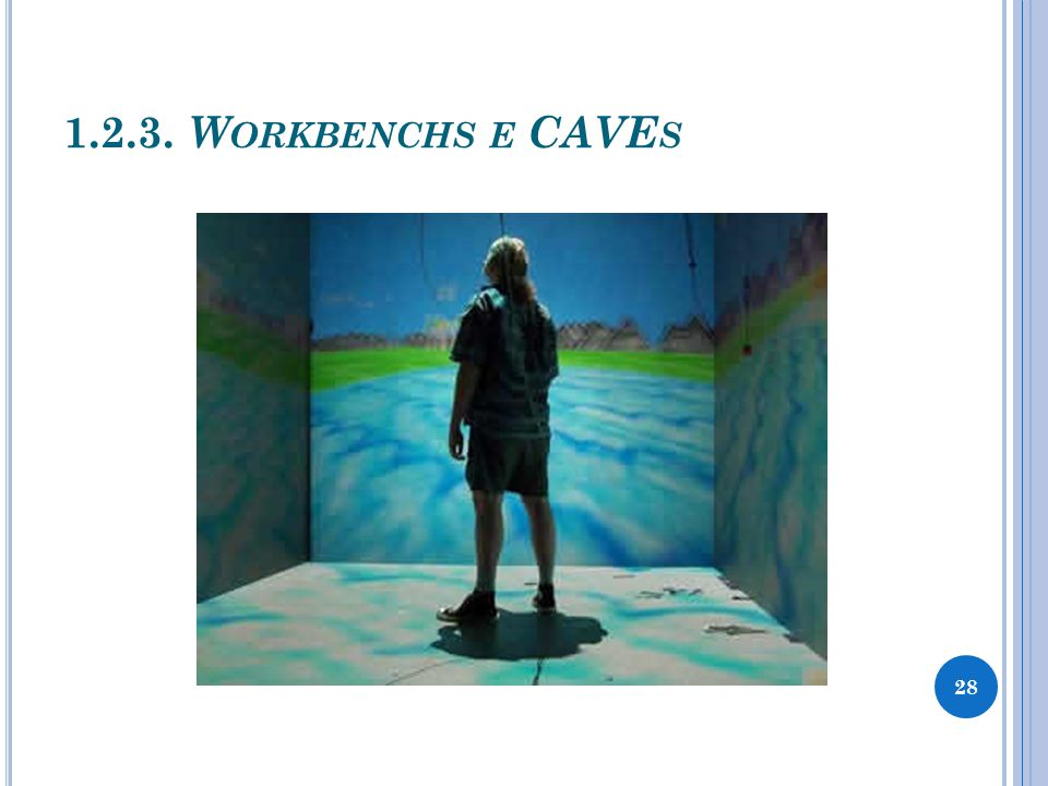 1.2.3. Workbenchs e CAVEs