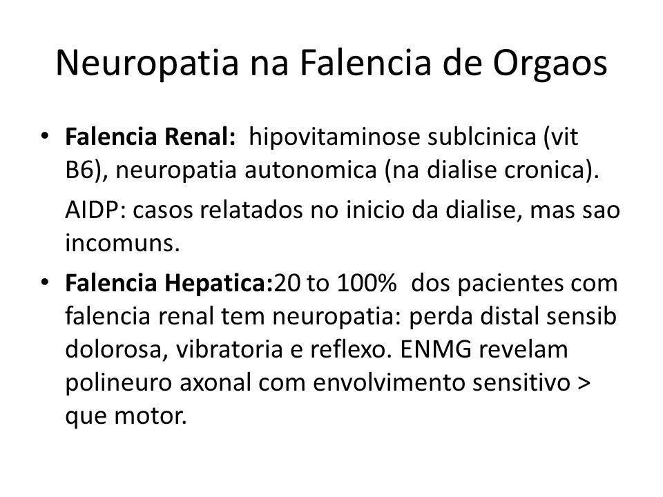Neuropatia na Falencia de Orgaos