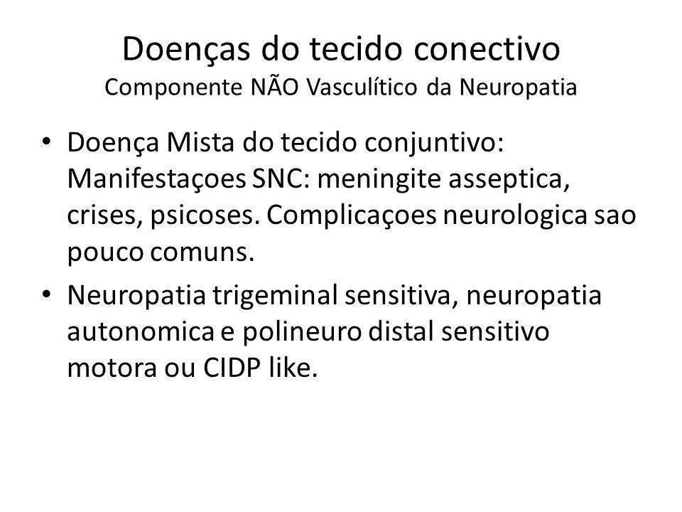 Doenças do tecido conectivo Componente NÃO Vasculítico da Neuropatia