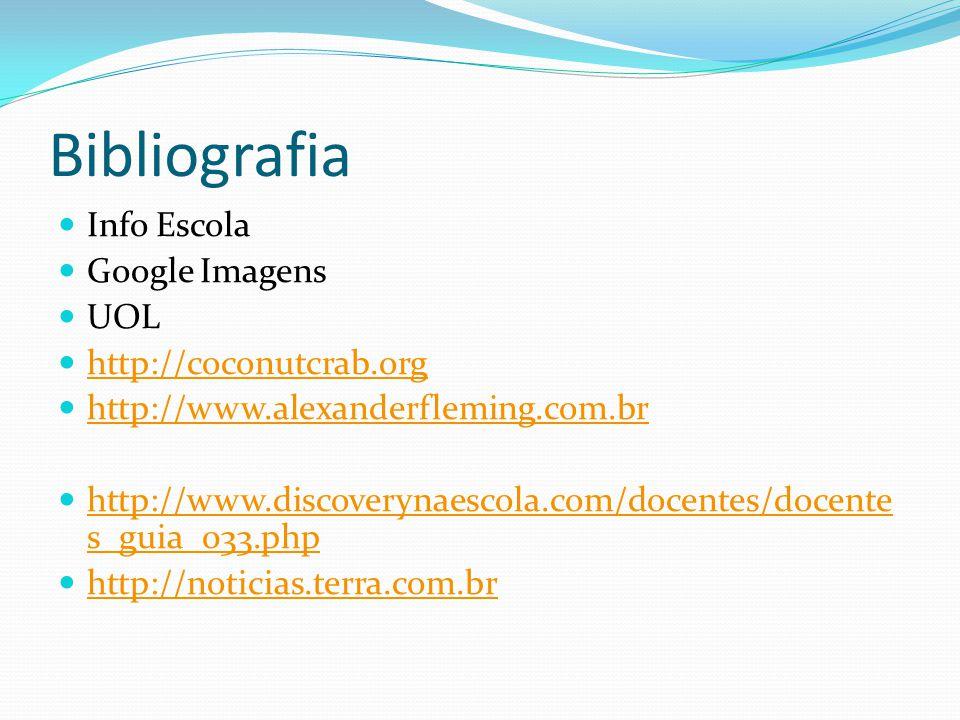 Bibliografia Info Escola Google Imagens UOL http://coconutcrab.org