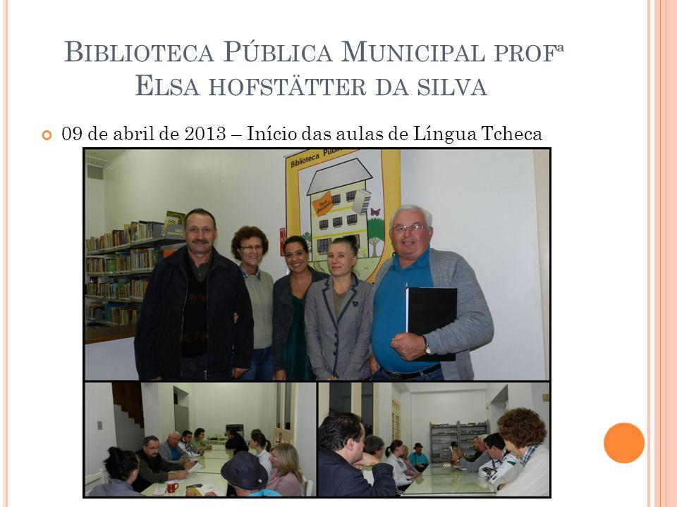 Biblioteca Pública Municipal profª Elsa hofstätter da silva