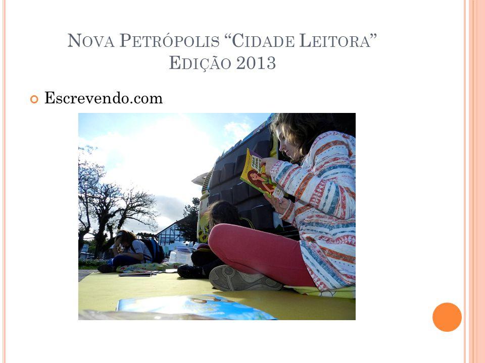 Nova Petrópolis Cidade Leitora Edição 2013