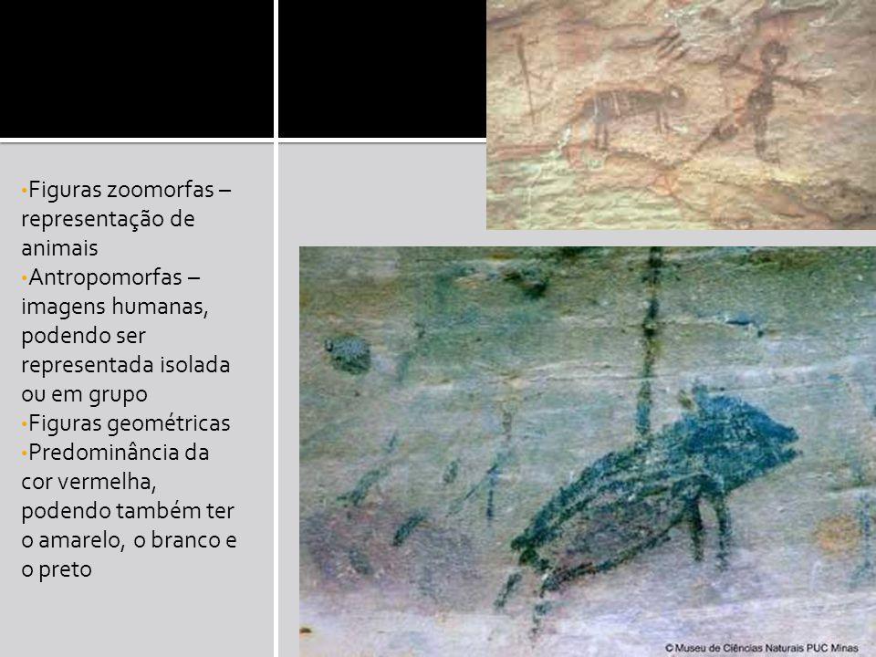 Figuras zoomorfas – representação de animais