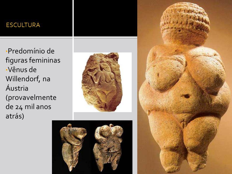 Predomínio de figuras femininas