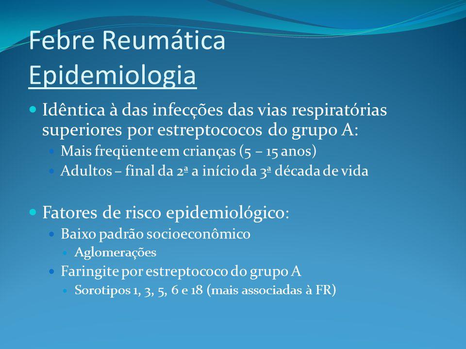 Febre Reumática Epidemiologia