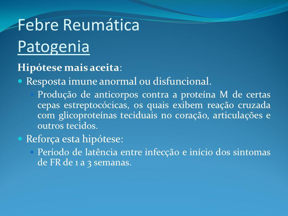 Febre Reumática Patogenia