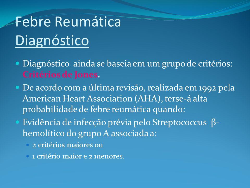 Febre Reumática Diagnóstico