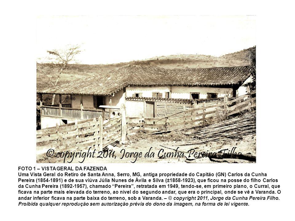 FOTO 1 – VISTA GERAL DA FAZENDA