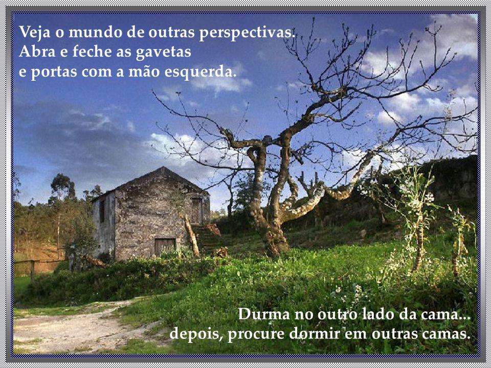 Veja o mundo de outras perspectivas