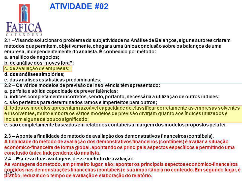ATIVIDADE #02