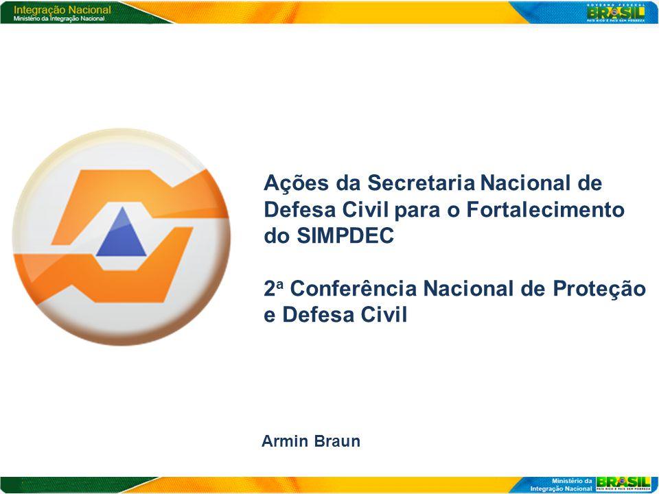 2a Conferência Nacional de Proteção e Defesa Civil