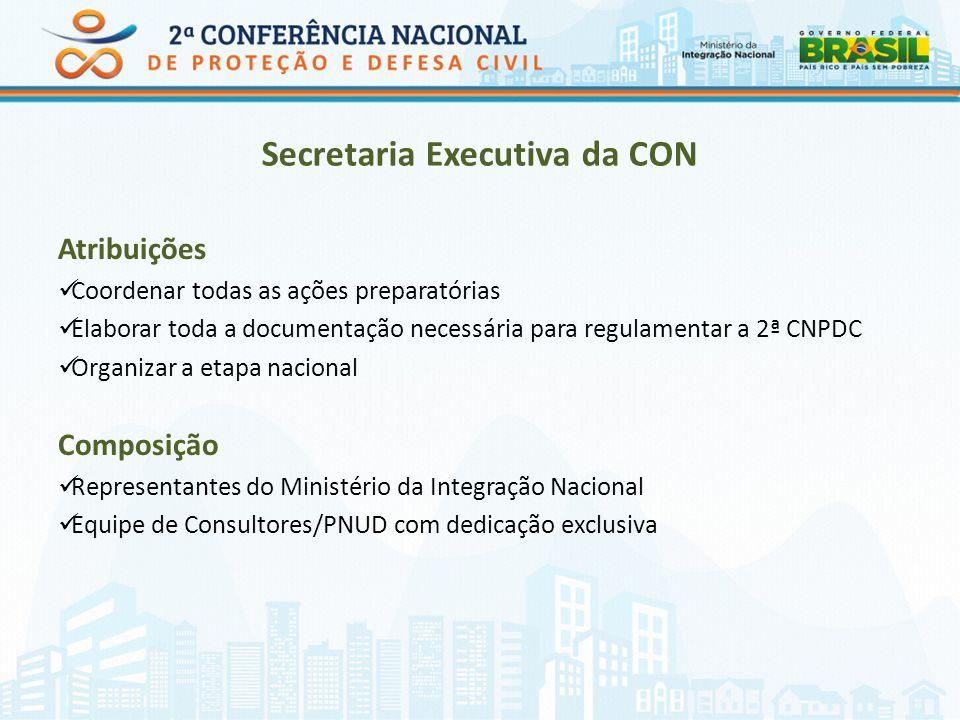 Secretaria Executiva da CON