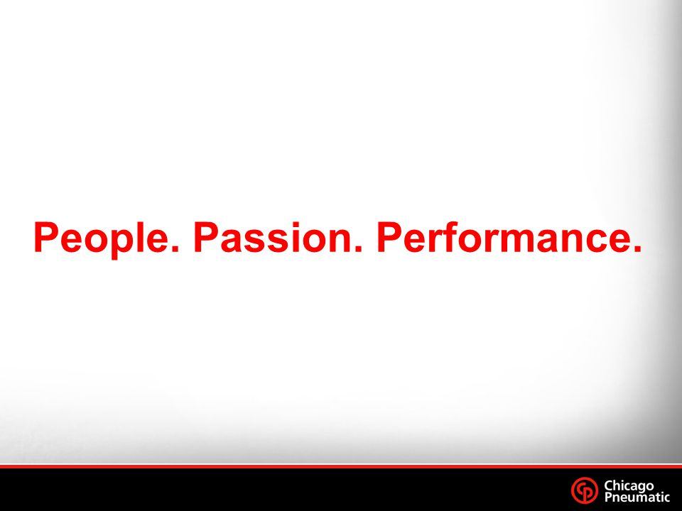 People. Passion. Performance.