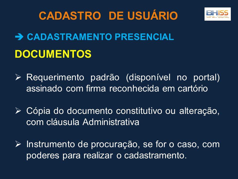  CADASTRAMENTO PRESENCIAL