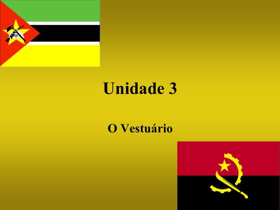 Unidade 3 O Vestuário