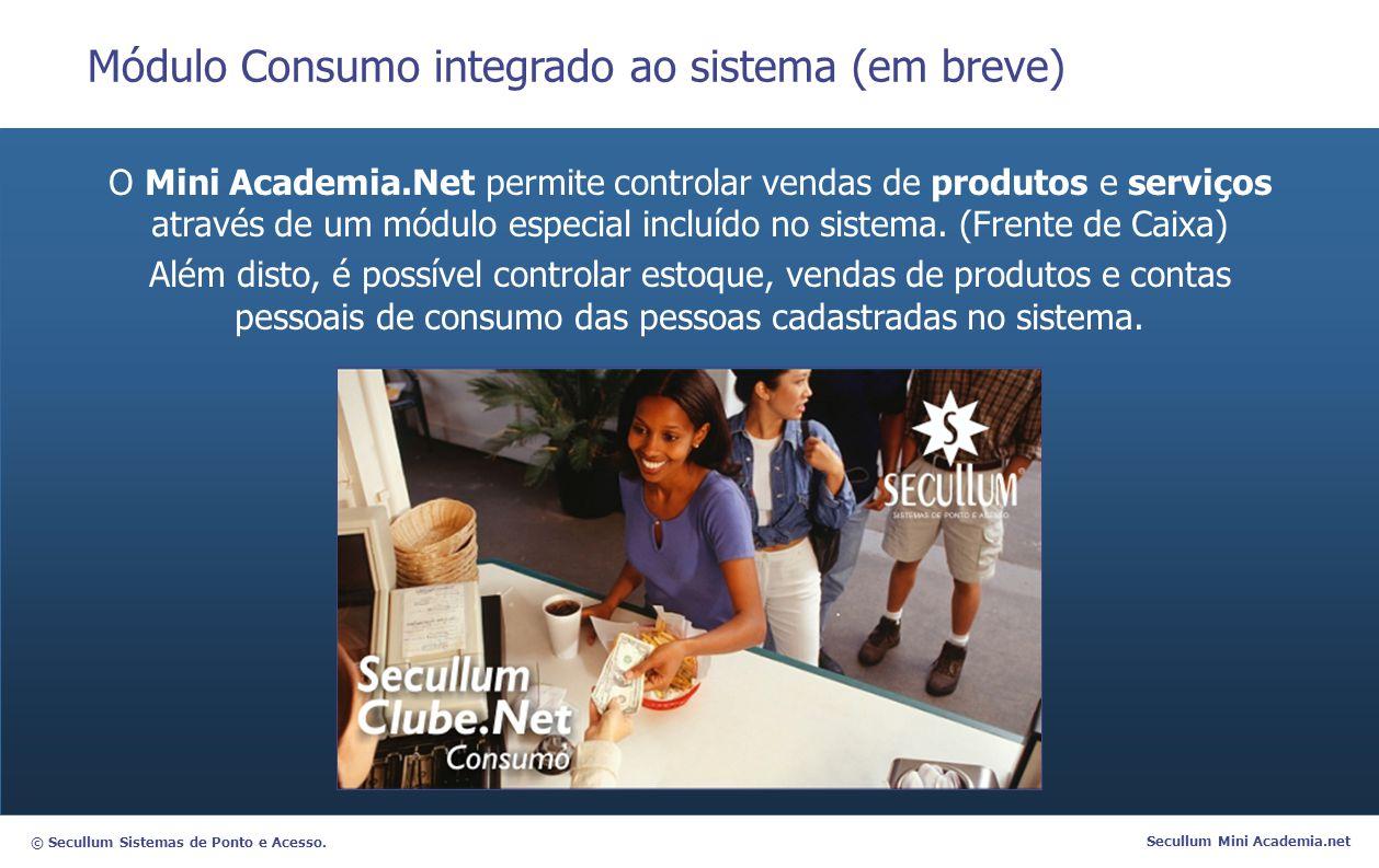 Módulo Consumo integrado ao sistema (em breve)