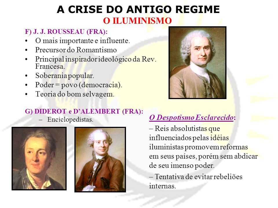 O mais importante e influente. Precursor do Romantismo