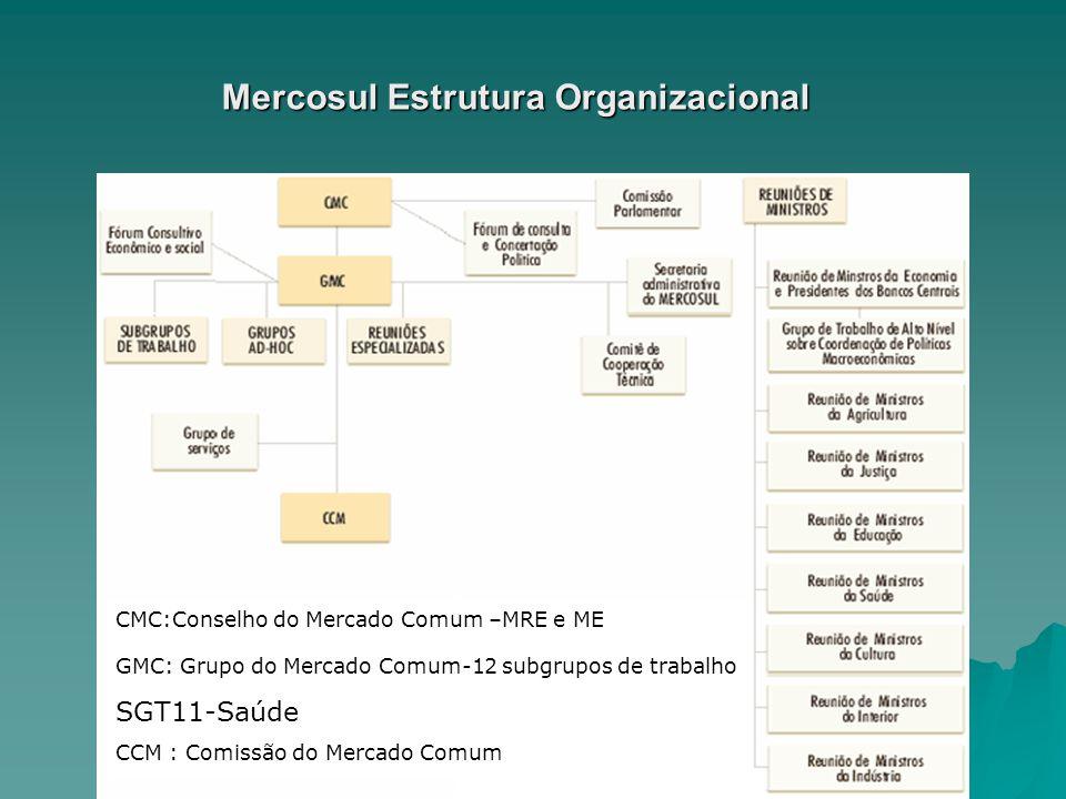 Mercosul Estrutura Organizacional