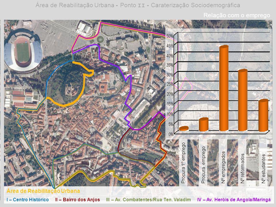 Área de Reabilitação Urbana - Ponto II - Caraterização Sociodemográfica
