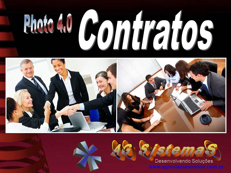 Contratos Photo 4.0 Desenvolvendo Soluções www.agsistemasonline.com.br