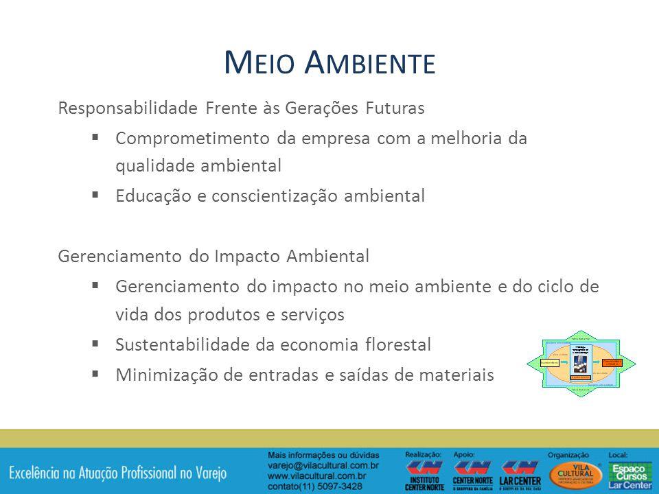 Meio Ambiente Responsabilidade Frente às Gerações Futuras