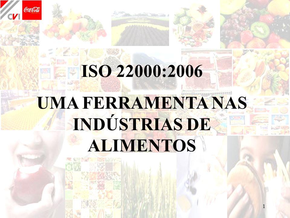 UMA FERRAMENTA NAS INDÚSTRIAS DE ALIMENTOS
