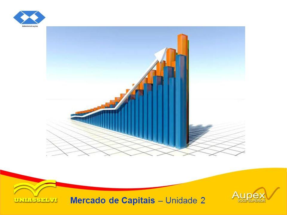 Mercado de Capitais – Unidade 2