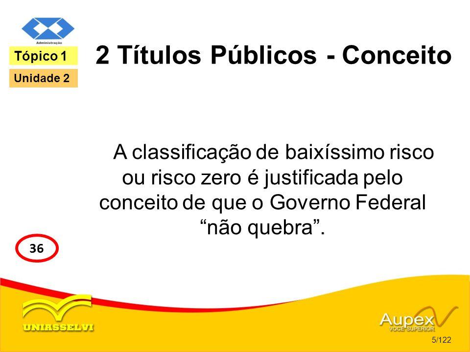 2 Títulos Públicos - Conceito
