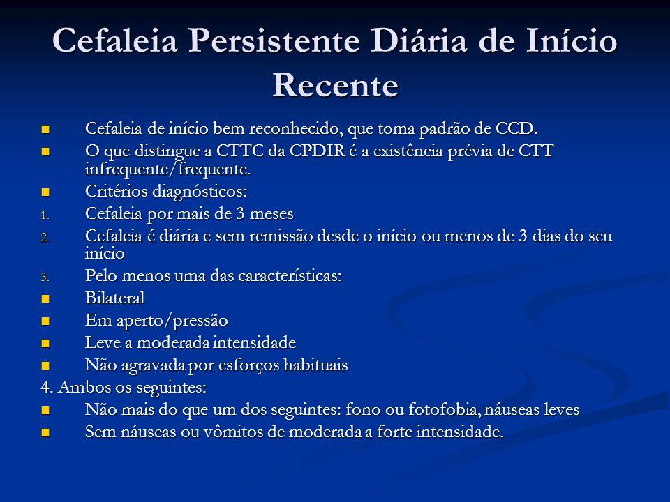 Cefaleia Persistente Diária de Início Recente