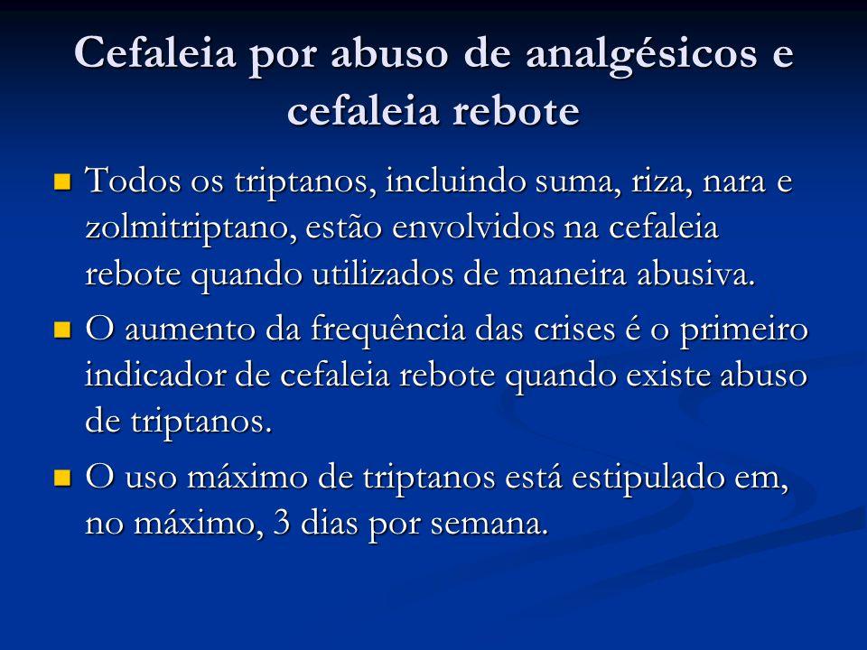 Cefaleia por abuso de analgésicos e cefaleia rebote