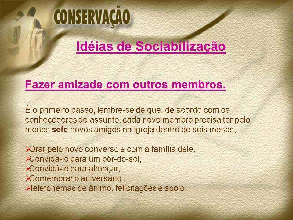 Idéias de Sociabilização