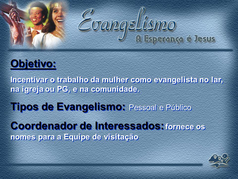 Tipos de Evangelismo: Pessoal e Público