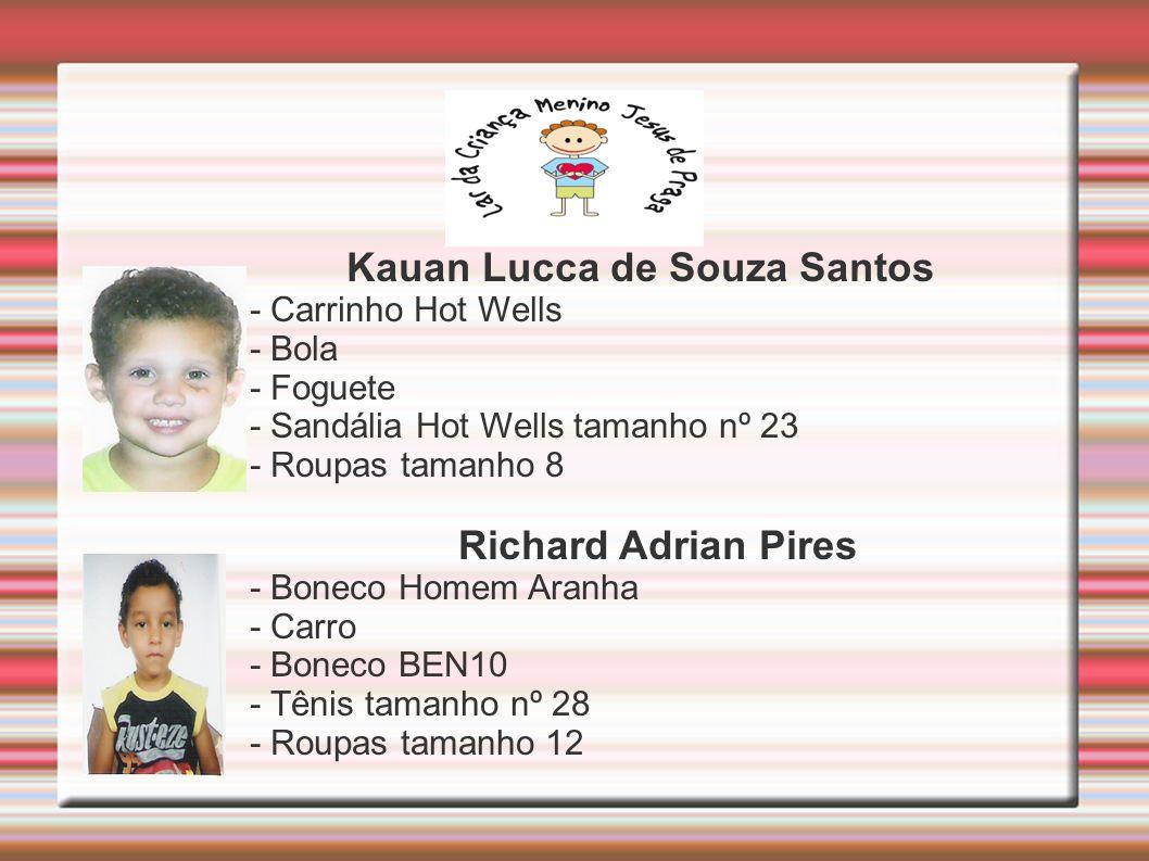 Kauan Lucca de Souza Santos