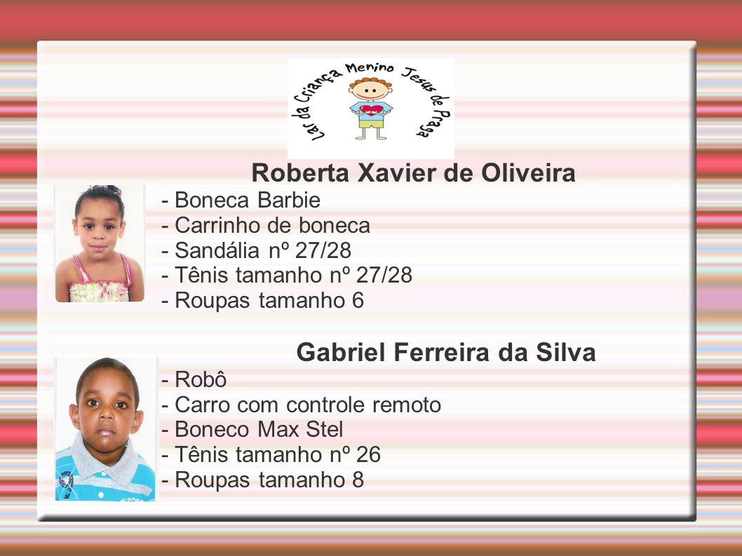 Roberta Xavier de Oliveira