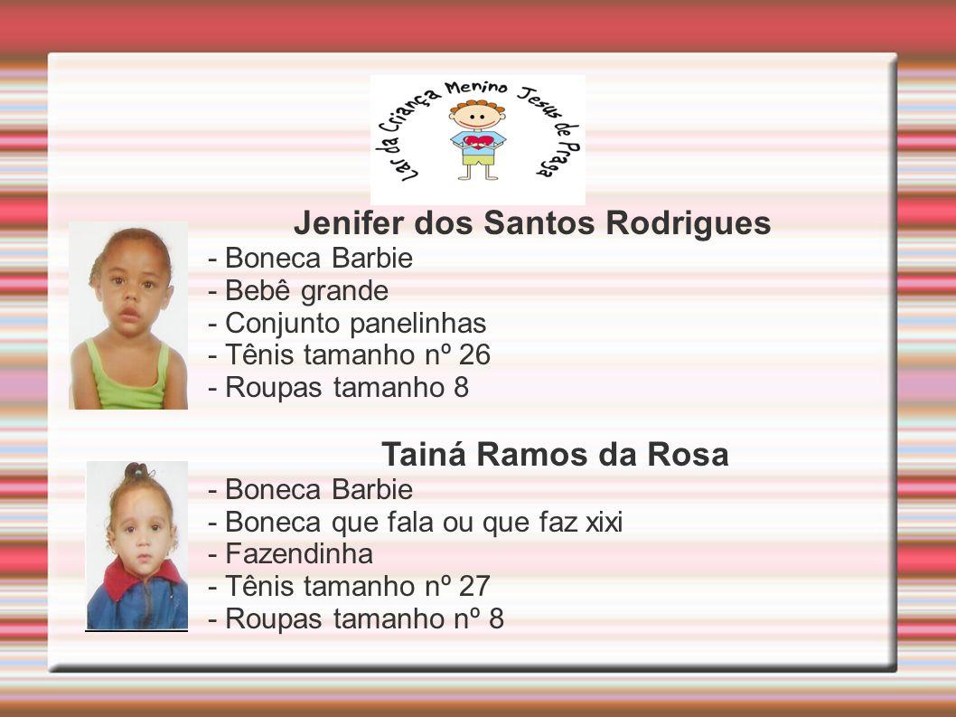 Jenifer dos Santos Rodrigues