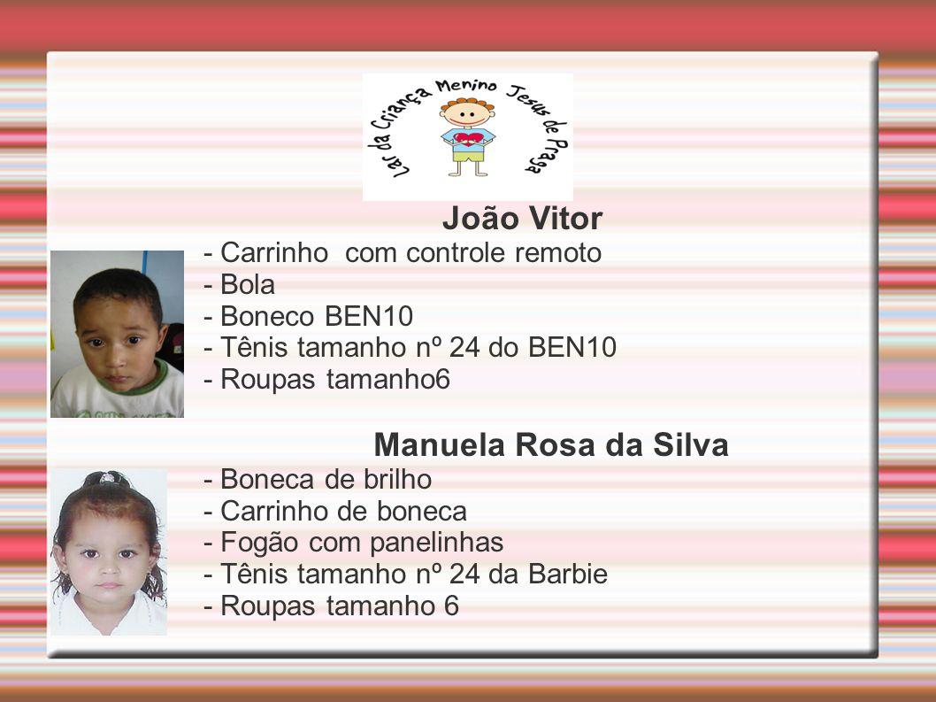 João Vitor Manuela Rosa da Silva - Carrinho com controle remoto - Bola