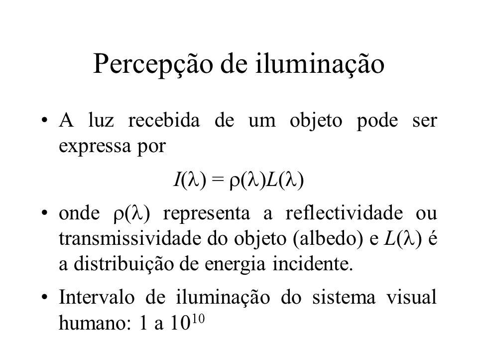 Percepção de iluminação