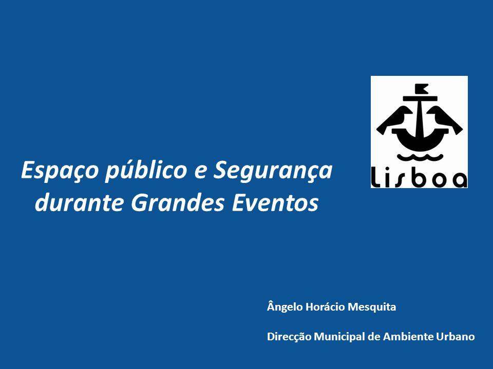 Espaço público e Segurança durante Grandes Eventos