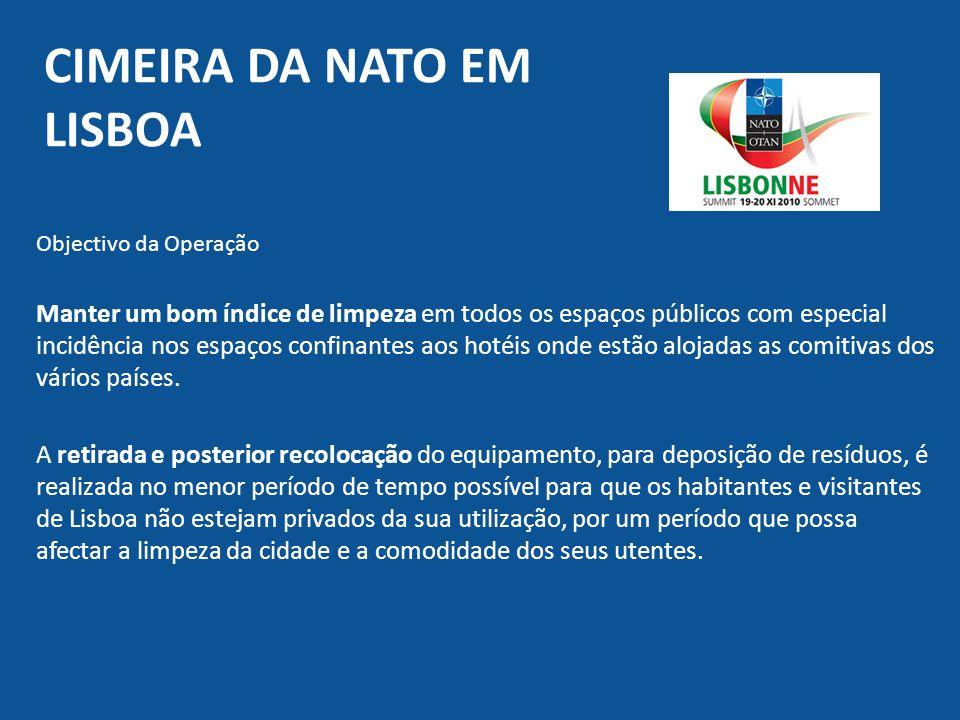 Cimeira da Nato em lisboa