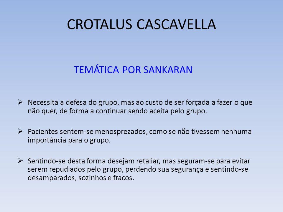 CROTALUS CASCAVELLA TEMÁTICA POR SANKARAN