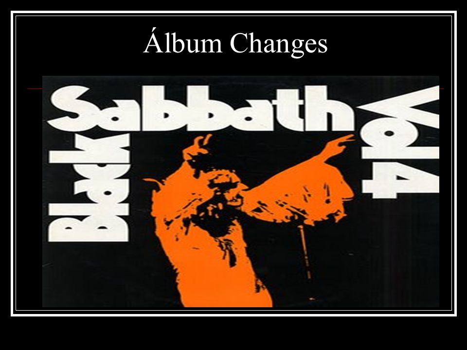 Álbum Changes