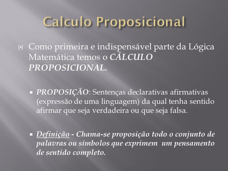 Calculo Proposicional