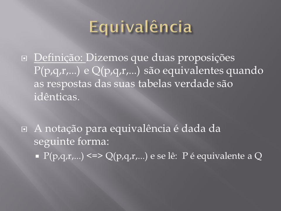 Equivalência