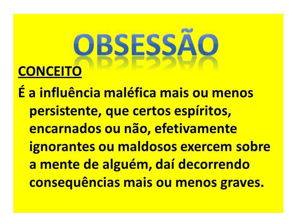 OBSESSÃO CONCEITO.