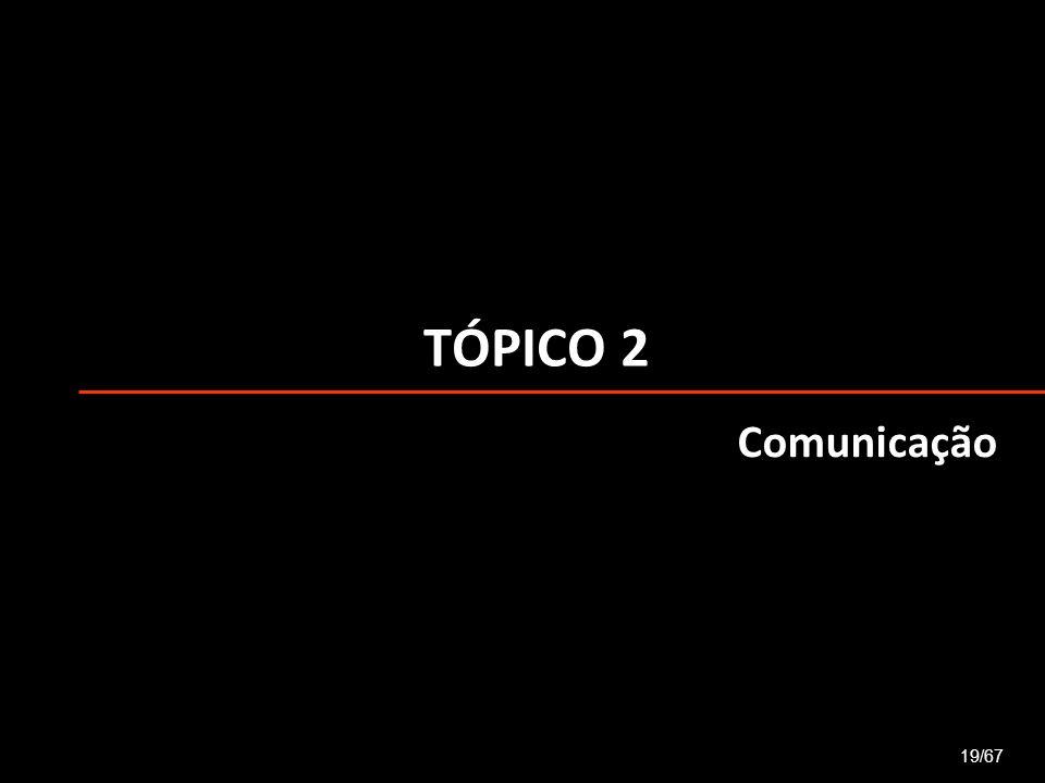 TÓPICO 2 Comunicação 19/67